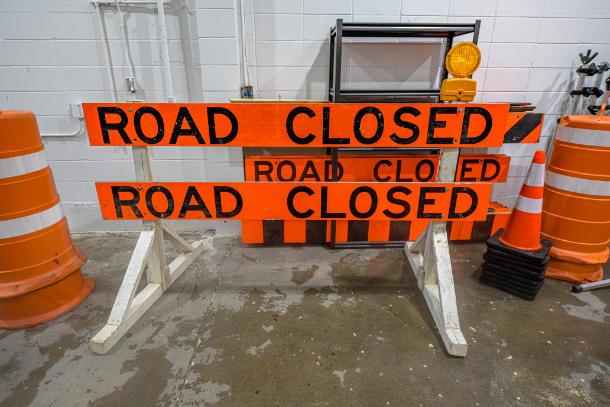 road sign equipment